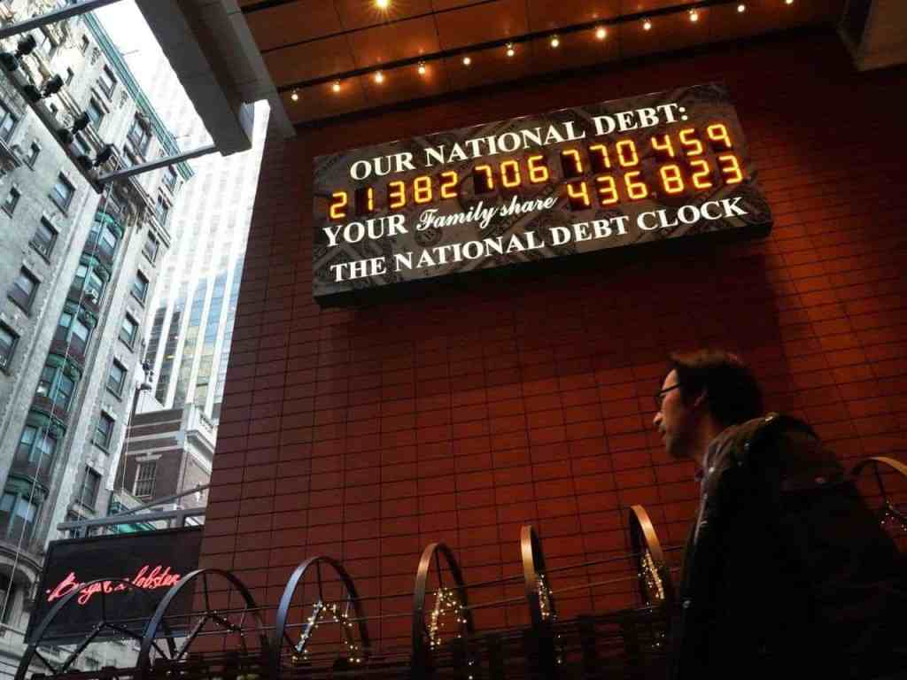 Deficits don't matter misnomer concerning the u s national debt