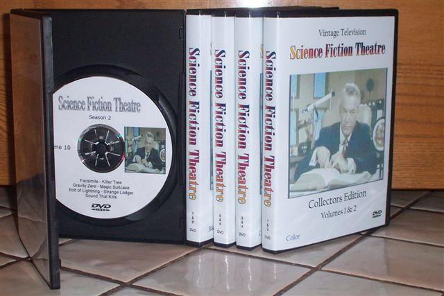 Rare Sci Fi TV on DVD: Science Fiction Theatre, Space Patrol, Men