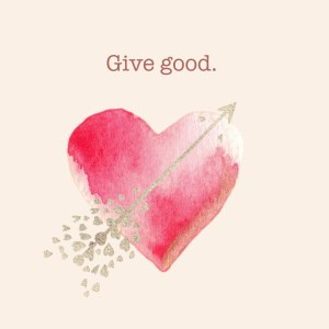 It's #GiveGood month for The Cancer Card Xchange.  We need everyone who cheers us along as we send gift cards to cancer patients all over the country and supports us as our waiting list grows to help us continue our mission of spreading #GoodInTheWorld.  So, please #GiveGood the whole month of February to brighten the day of people who are facing cancer.  Easy to donate here or via our Facebook page.