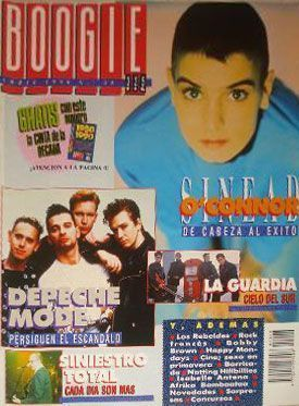 'Hunted by the snake' en Boogie n.º 28 (abril 1990)