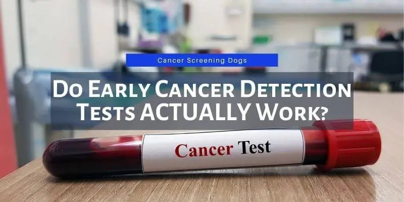 do early cancer detection tests work