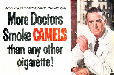 Image result for old cigarette ads with doctors