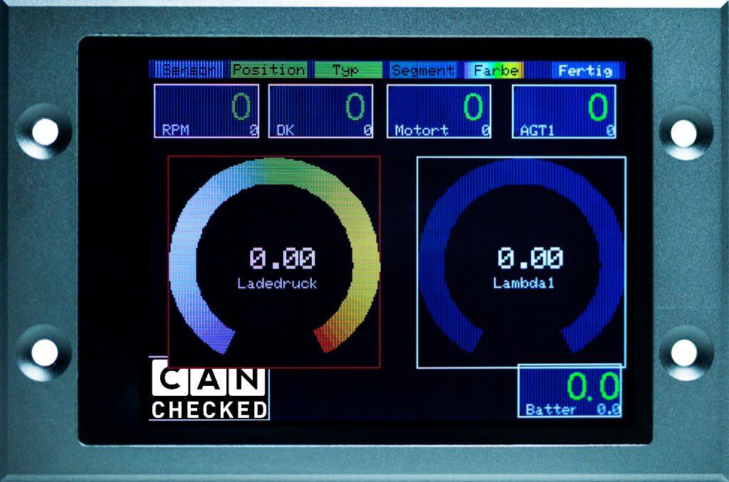 2.8 Display - Widget Farbänderung