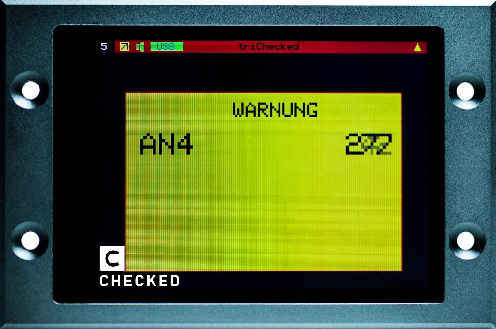 2.8 Display - Warnung Warnwert Popup