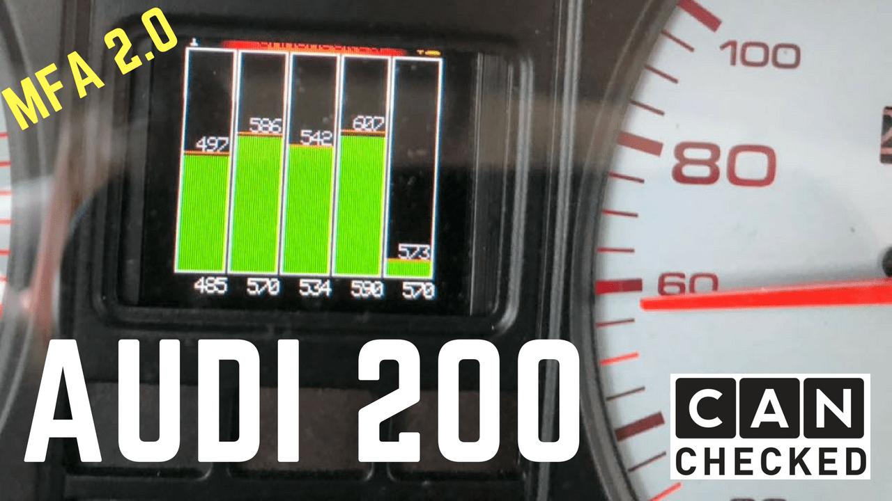 Audi 200 MFA2.0