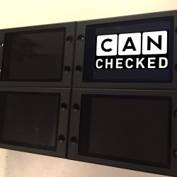 CANchecked Display - Aluminium Gehäuse