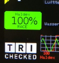 "Haldex Steuerung 2.8"" Display Widget"