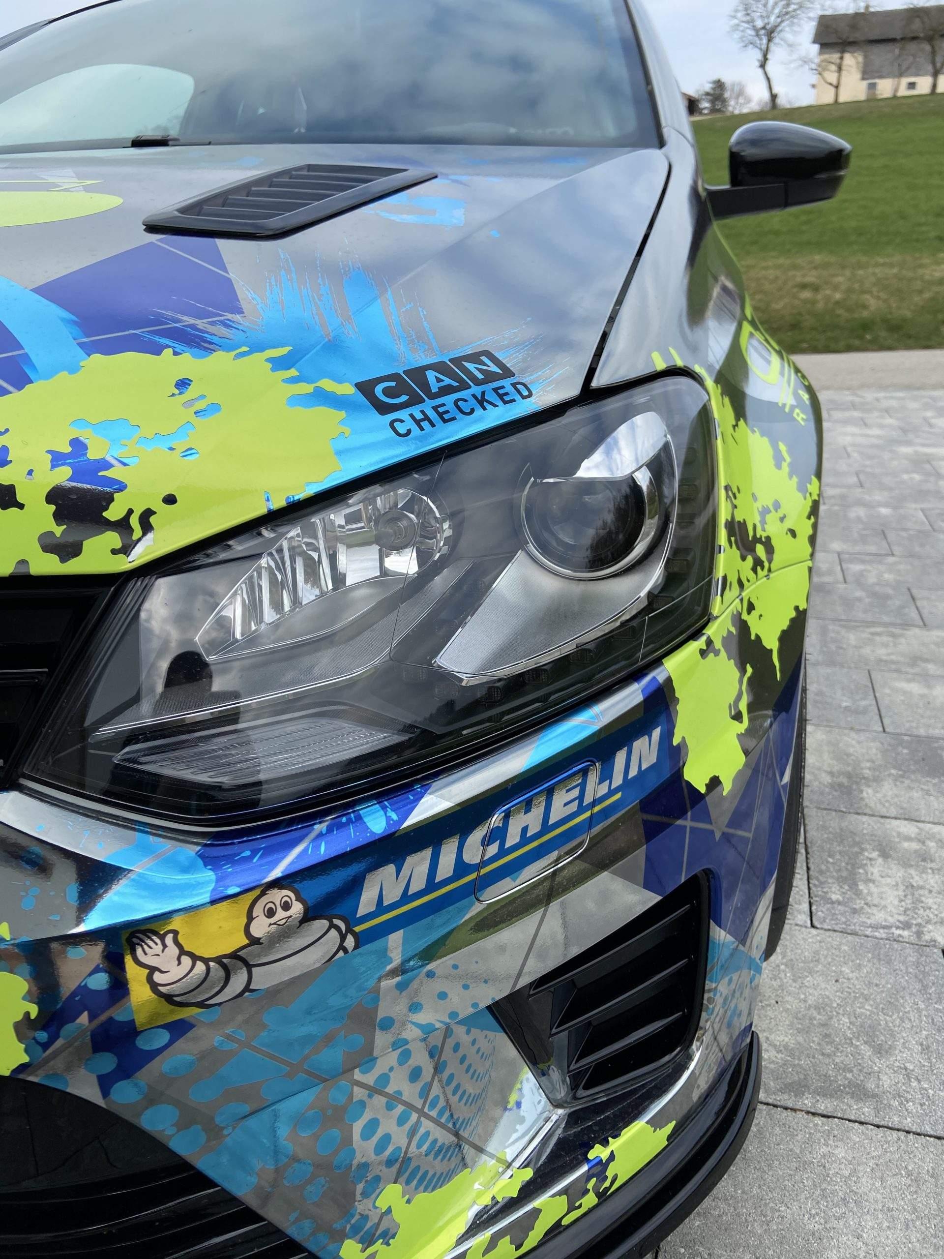 CANchecked VW Polo 6R 6C GTI WRC daten display