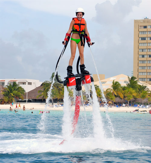 New Attractions In Cancun Flyboard Amp Jetpack CARM Blog