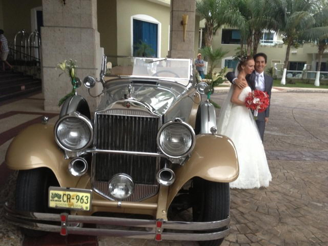 Classic packard 1930 for wedding