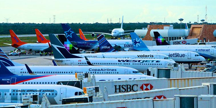 Cancun International Airport Information Terminals Maps