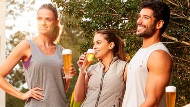 Photo of Tomar una cerveza después del ejercicio hidrata como si tomaras agua