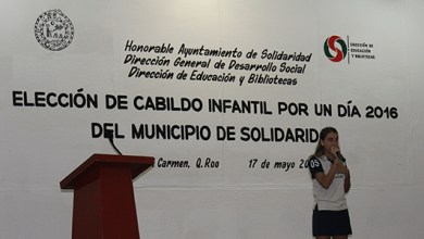 Photo of 54 jóvenes participan en el cabildo infantil de Playa del Carmen