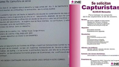 Photo of INE alerta sobre engaños en el trámite hacia la institución