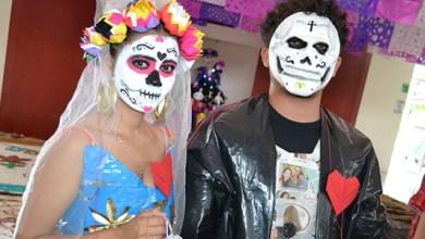 """Photo of Alumnos de la UT Cancún realizan su tradicional """"Festival Colores de la Muerte"""""""