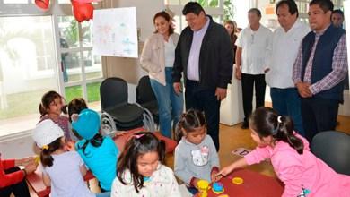 Photo of @LuisTorresUNE asiste al inicio del programa «Niñez Segura» del CIPI MOOTS YA'AXCHE