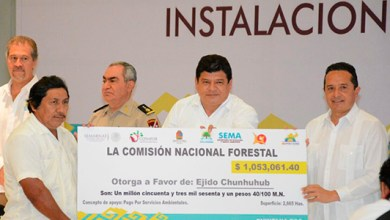 Photo of @LuisTorresUNE acompaña a @CarlosJoaquin en la instalación del Consejo Estatal Forestal