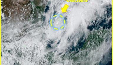 Photo of Ciclón Tropical Potencial «Dieciseis» no representa peligro para Quintana Roo