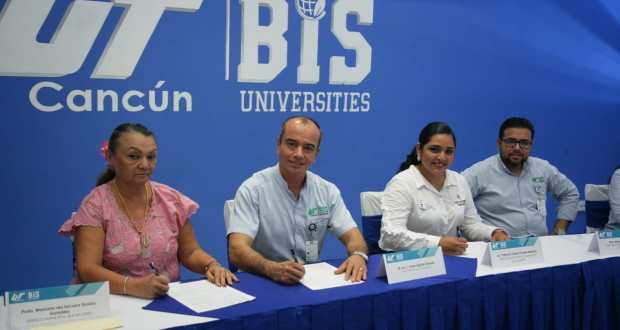 Gobierno de Isla Mujeres firma convenio con la UT para impulsar el desarrollo de estudiantes - Cancún Mio