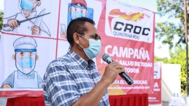 Photo of La CROC despliega en Quintana Roo campaña contra el COVID-19