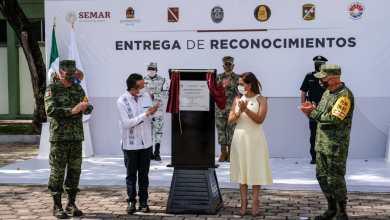 Photo of Entregan reconocimientos a brigadistas por su heroico apoyo en Cancún