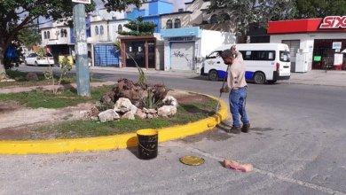 Photo of Continúa remozamiento permanente de obra publica en Cancún