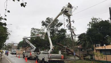 Photo of Solo el 18% del servicio eléctrico en Q Roo y Yucatán fue afectado por Zeta