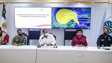 Photo of Instalan en Isla Mujeres Comité Especializado en Fenómenos Hidrometeorológicos