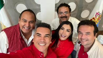 Photo of @CandyAyuso se reúne con el Presidente nacional del PRI