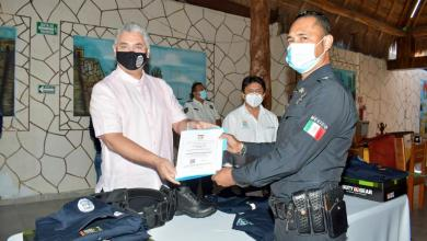 Photo of Policías en Tulum reciben certificado Único Policial