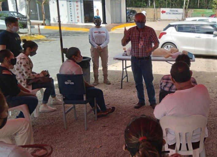 capacitación ciudadanos Tulum