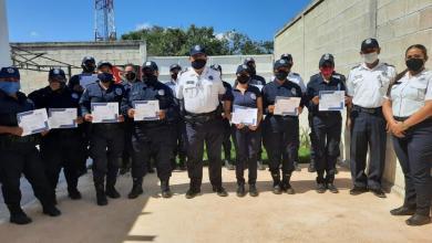 Photo of Certifican a elementos del GEAVI sobre perspectiva de genero en Isla Mujeres