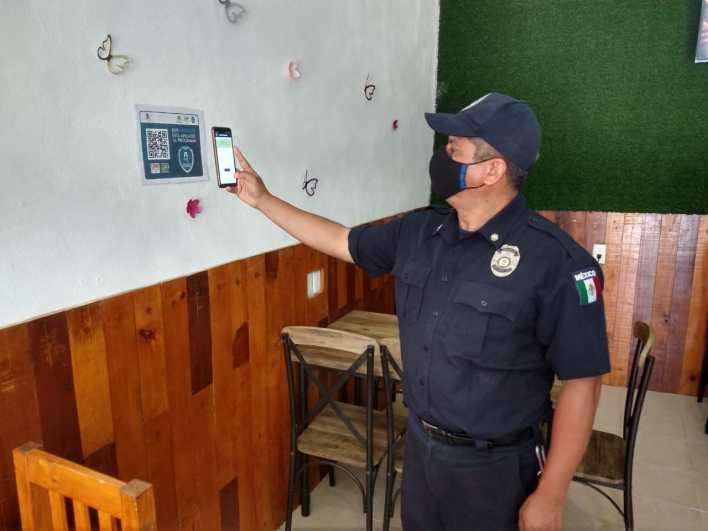policia de Isla Mujeres