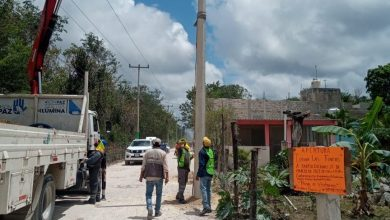 Photo of Colonia las Fincas en Cozumel contara con electricidad
