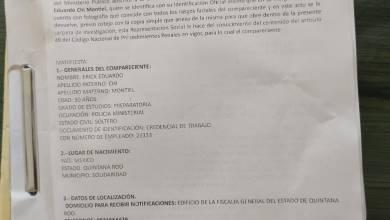 Photo of Revelan pruebas de presunto fraude electoral en Playa del Carmen