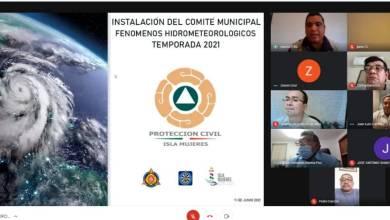 Photo of Instalan Comité Especializado en Fenómenos Hidrometeorológicos en Isla Mujeres