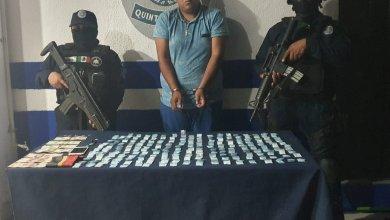 Photo of Sorprenden a narcotraficante con 200 dosis de cocaína en Tulum