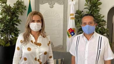 Photo of Lili Campos y el Gobernador de Quintana Roo se reúnen