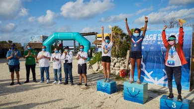 "Photo of Concluye la carrera ""Race for the Reef"" en Cozumel"