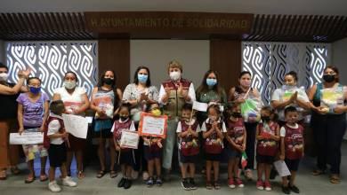 Photo of Entregan útiles escolares a padres de familia en Solidaridad