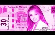 """EPN LANZA BILLETE """"EDICIÓN ESPECIAL"""" DE $30 CON LA IMAGEN DE ANGÉLICA  RIVERA"""