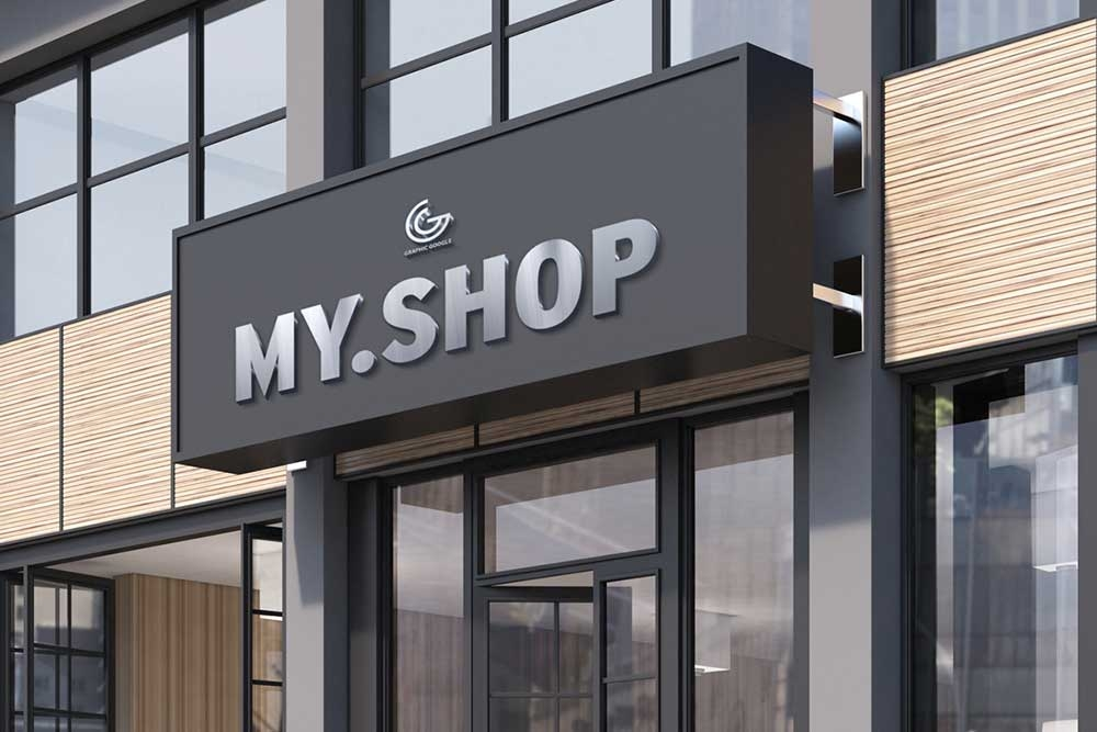 50 Storefront Mockup Premium And Free Mockups In Psd Candacefaber