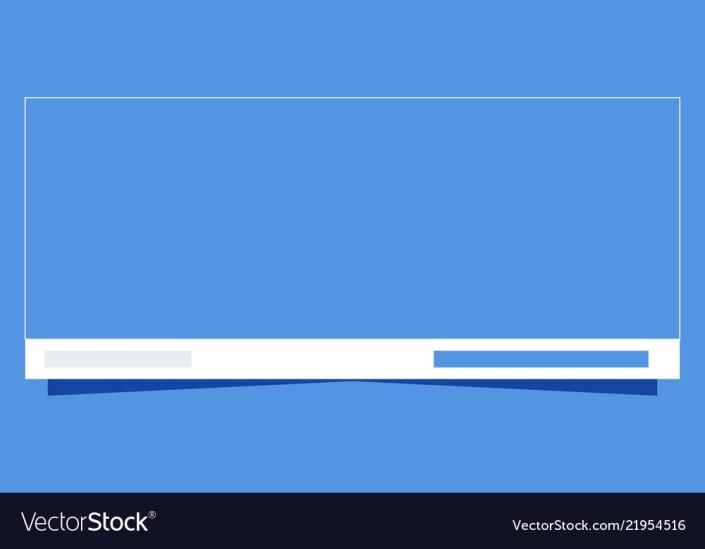 banner template social media mockup design vector image
