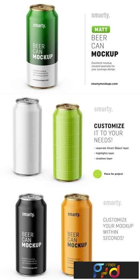 beer can mockup 3210550 freepsdvn