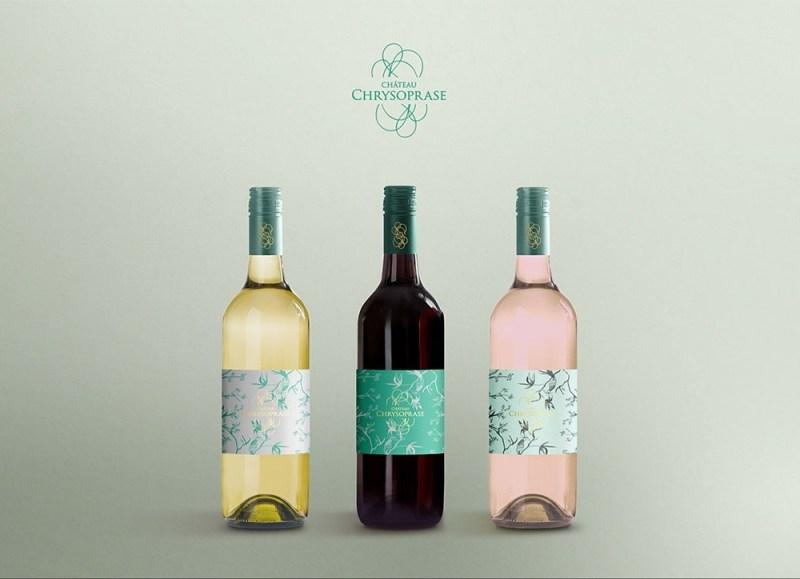 clean wine bottle mockup mockupworld