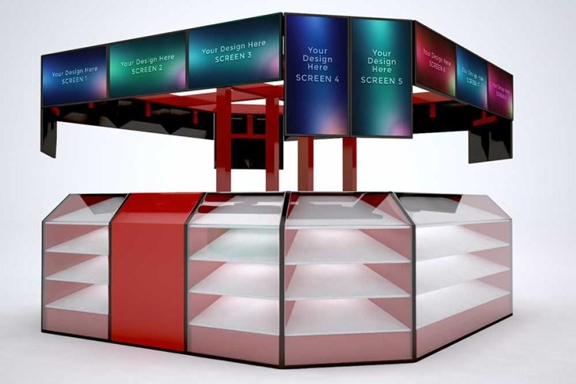 download this free kiosk mockup in psd designhooks