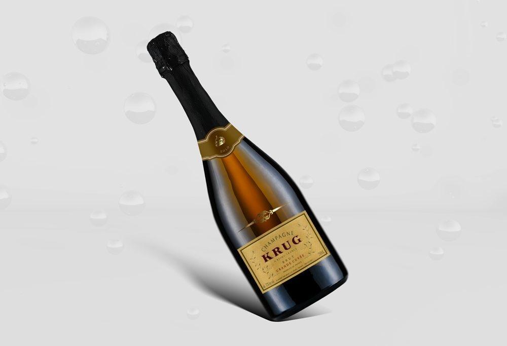 floating wine bottle mockup mockupbuzz