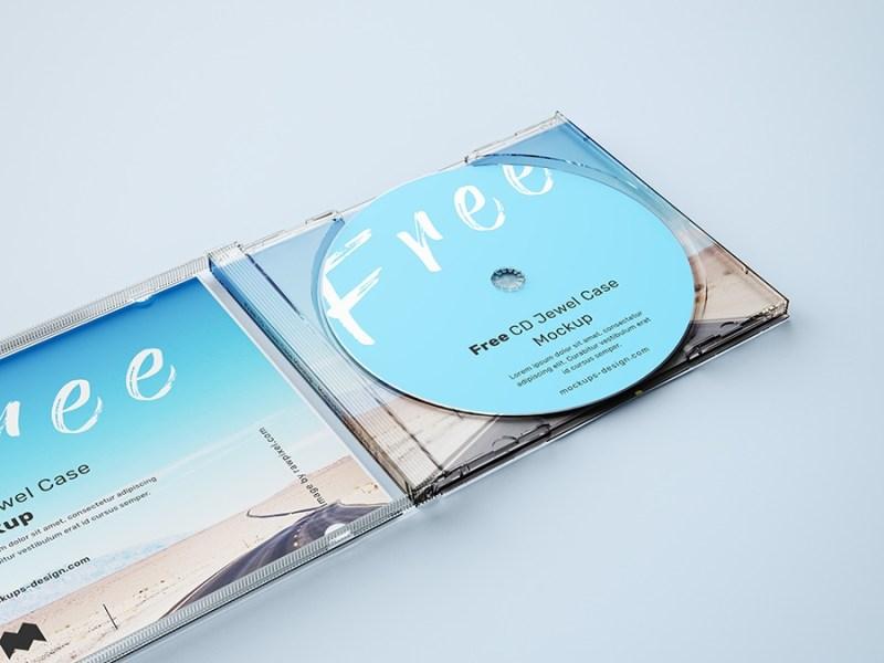 free cd jewel case mockup mockups design free premium mockups