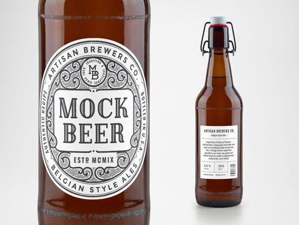 free design mockups free vintage beer bottle mockup you need to