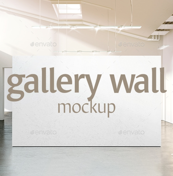 gallery wall mockup rebrandy graphicriver